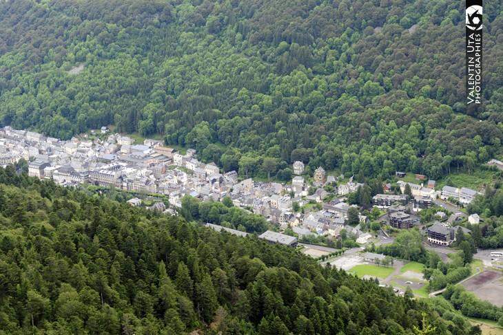 A 1050 m d'altitude le Mont Dore est la plus montagnarde des stations thermales d'Auvergne